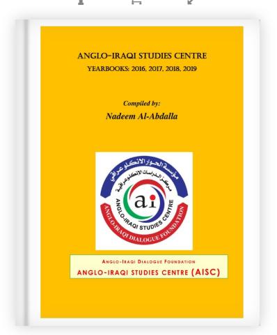 Anglo-Iraqi Studies Centre Yearbooks: 2016, 2017, 2018, 2019